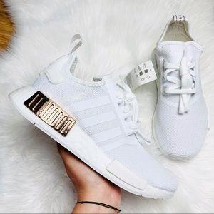 Adidas Originals NMD R1 Cloud White Gold